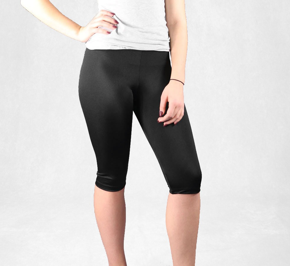 Knee length leggings