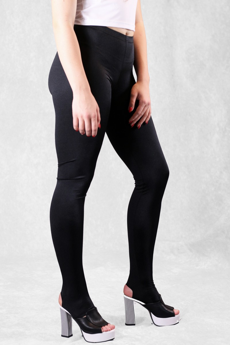 c470575a5445b Stirrup Leggings - Black Spandex Dance Leggings
