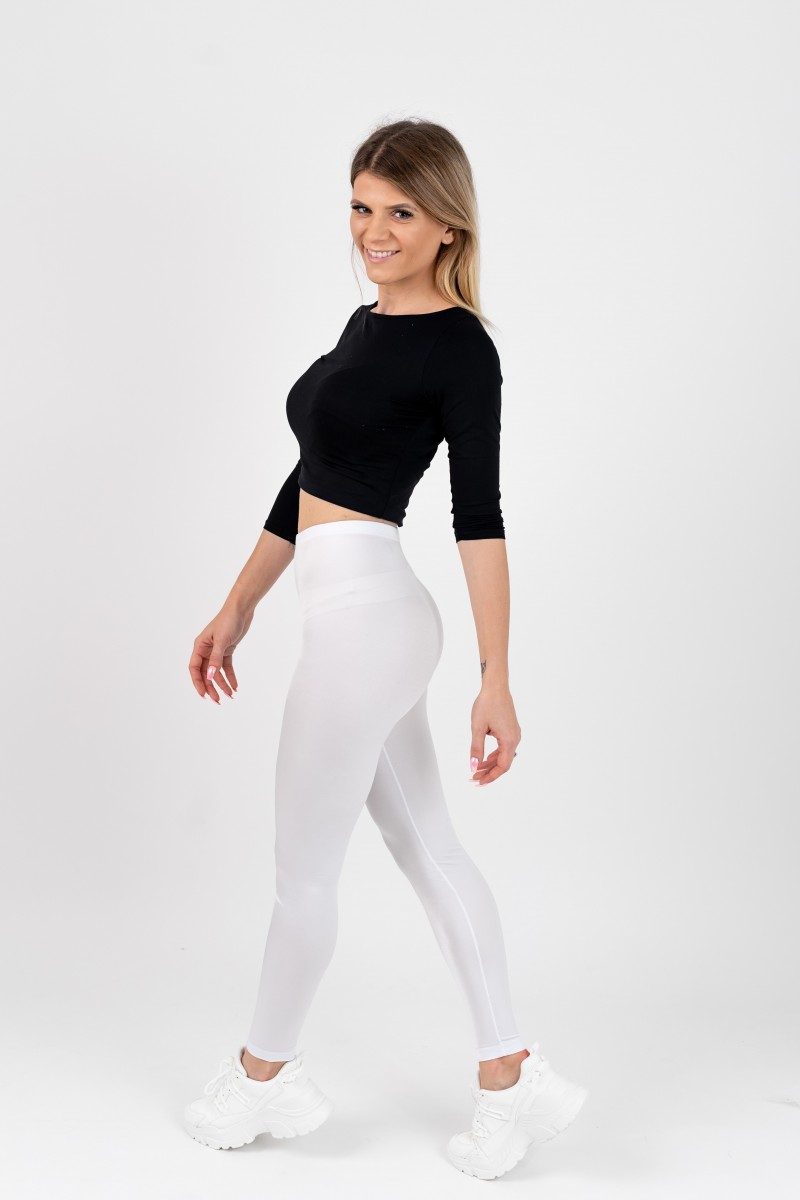 White leggings