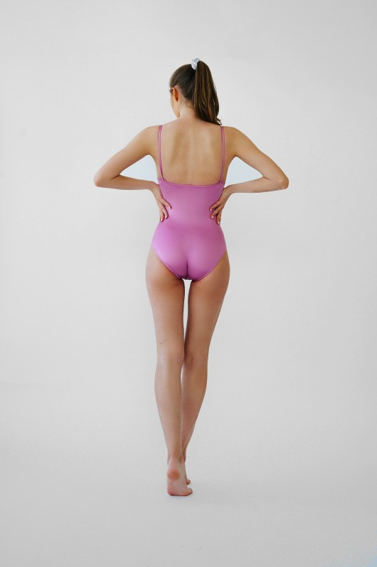 Pleasing Lavender Pink Body with Straps